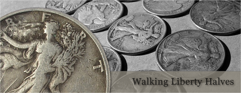 Junk Silver Walking Liberty Halves